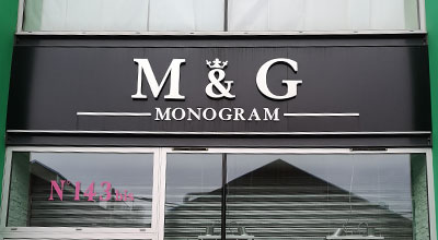Magasin M&G Monogram